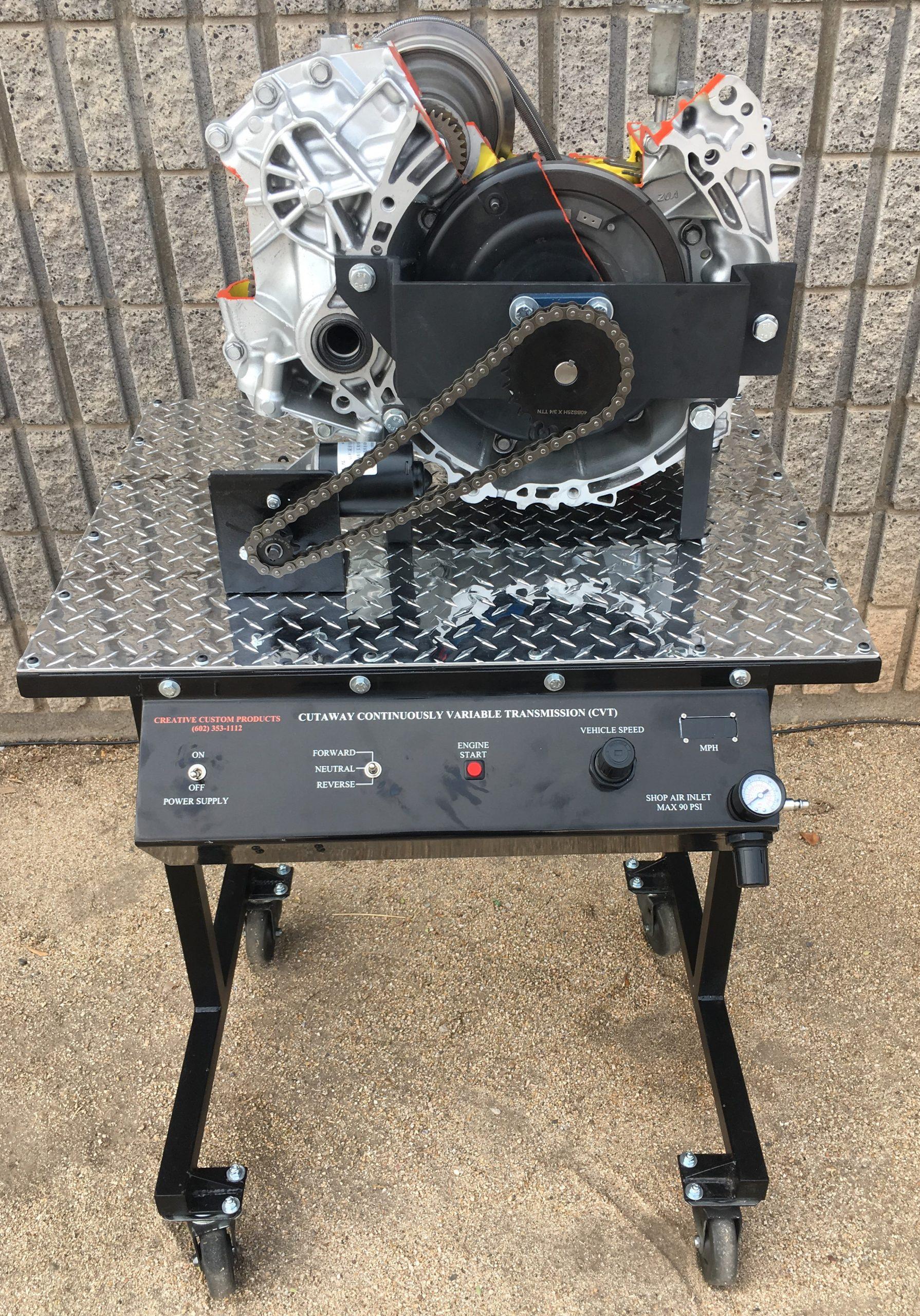 CVT Transmission Cutaway P1