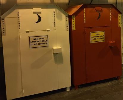 Tinker AFB bins