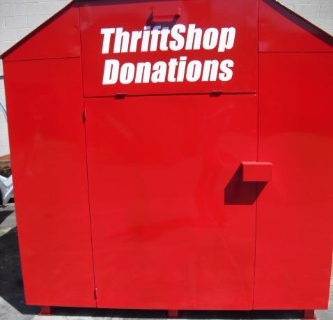 Big size donation bin