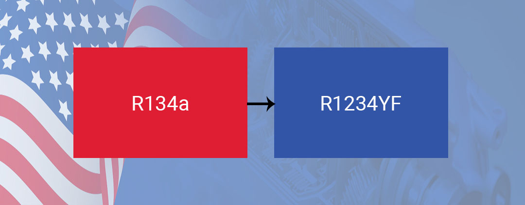 The Refrigerant Transition from R134a to R1234YF in Automotive